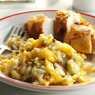 pommes de terre au brocoli et au fromage mijotées