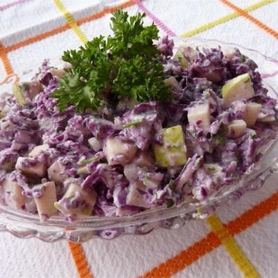 salade de chou et de pomme
