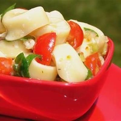 salade d'épinards et tortellini