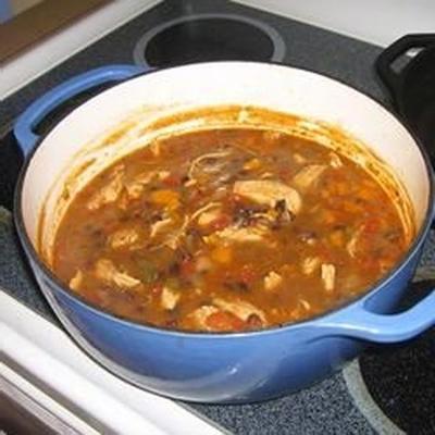 soupe tortilla au poulet iv