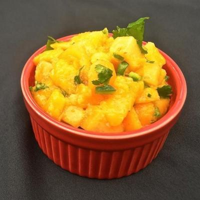 salsa à la mangue épicée