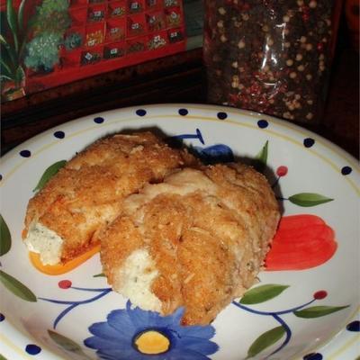 tartines au poulet et au fromage