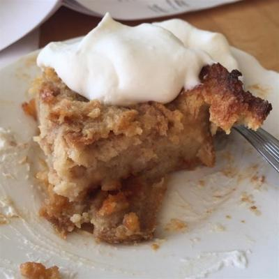 pudding au pain au beurre