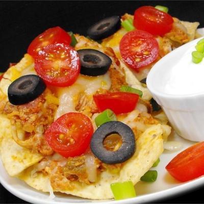 nachos au poulet style restaurant