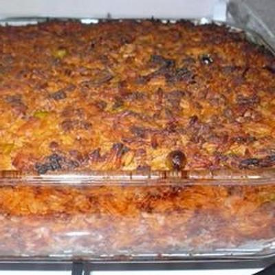 riz cuit au four (ross fil-forn)