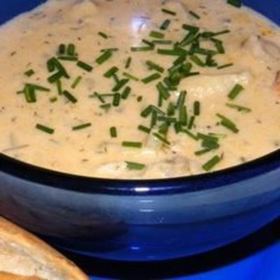 soupe au crabe de caroline du sud