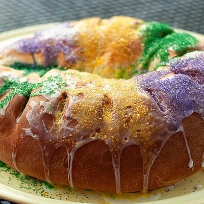 mardi gras roi gâteau
