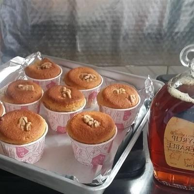 muffins aux noix et à l'érable