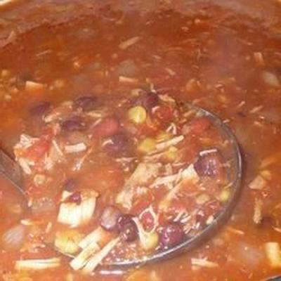 soupe mexicaine d'Amy