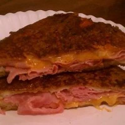 sandwiches au jambon