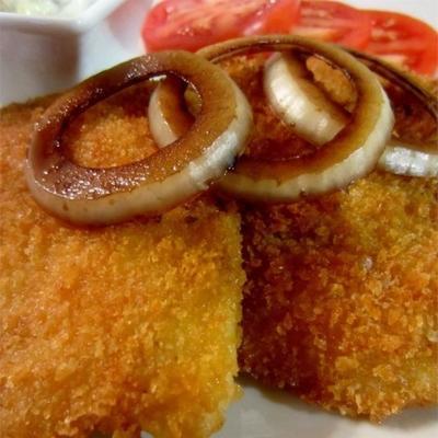 poisson balsamique pané