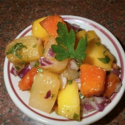 salsa fruité des Caraïbes