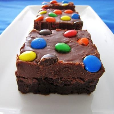 glaçage au brownie
