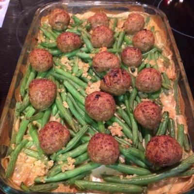 casserole de boulettes de viande suédoise
