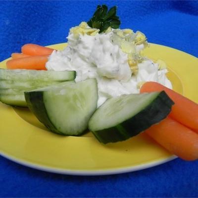 trempette aux légumes jonquille