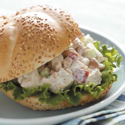 sandwich croquant au poulet