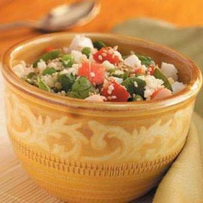 salade de fruits de mer au couscous
