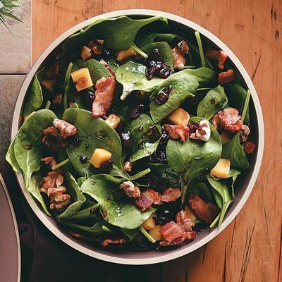 salade de canneberges ivre