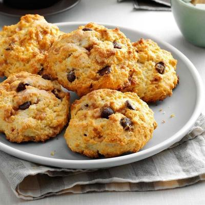 biscuits au chocolat et au caramel