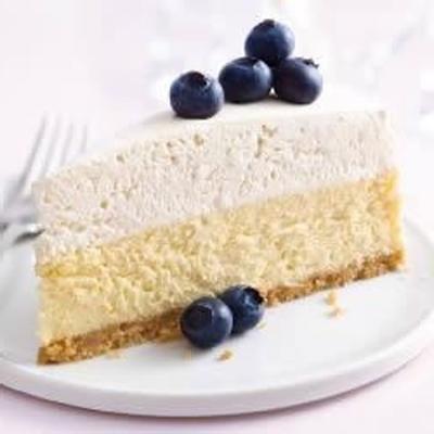 gâteau au fromage de Philadelphia à la vanille