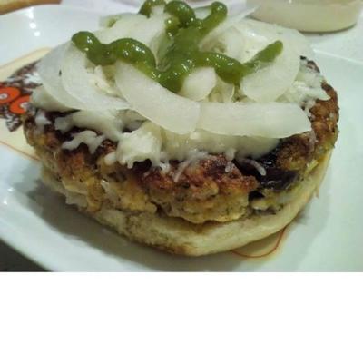 hamburgers au tofu de patty