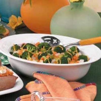 casserole de brocoli aux carottes