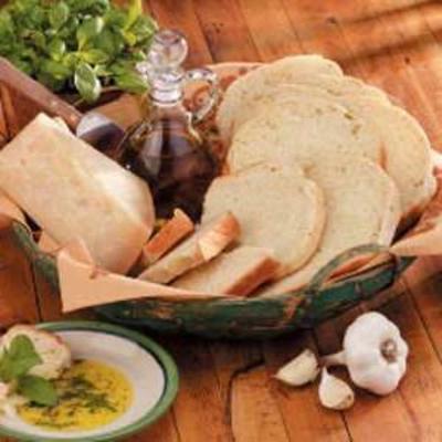 pain à l'ail basilic