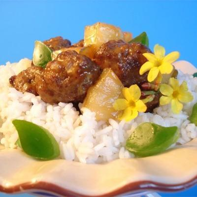 boulettes de viande à la waikiki