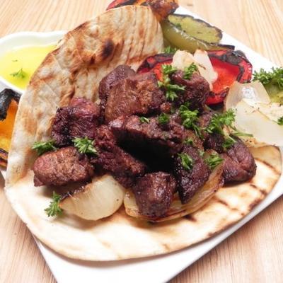 enveloppements de kebab bohème