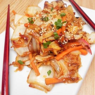 Kimchi frit