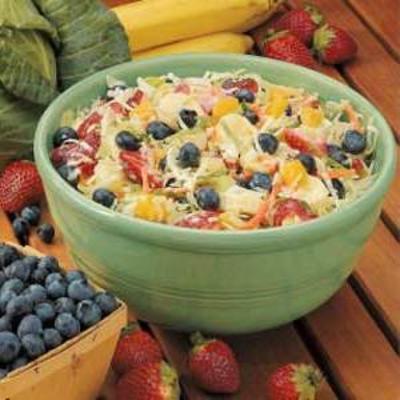 salade de chou fruité