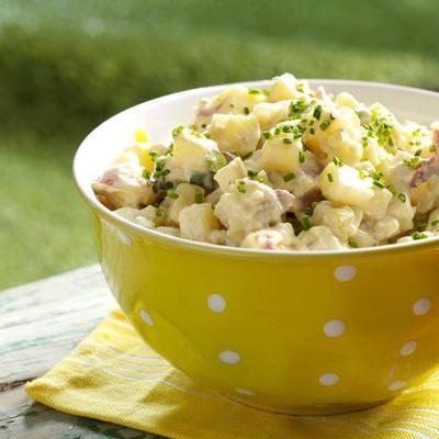 salade de pommes de terre au miel et au dijon