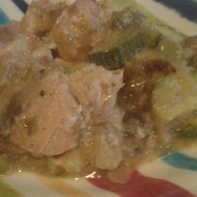 casserole de poulet mijoteuse et farce