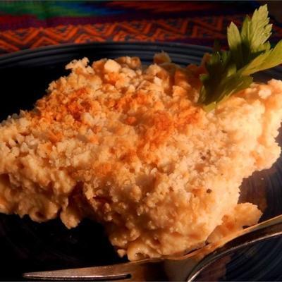 macaroni au fromage sain et crémeux