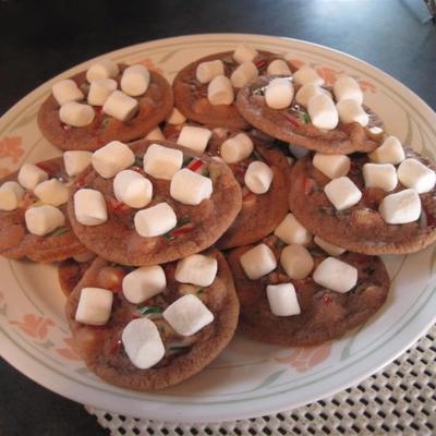 canne en sucre biscuits au chocolat chaud