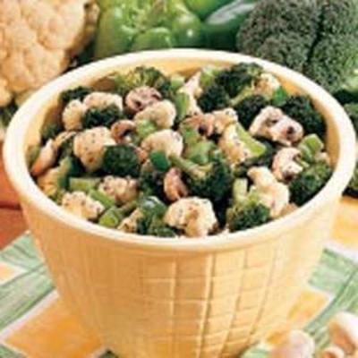 légumes frais marinés