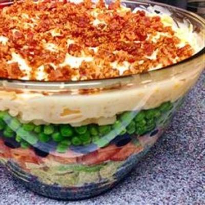 la salade 7 couches de nana