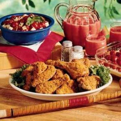poulet pique-nique croustillant