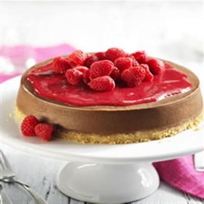 cheesecake chocolat-framboise