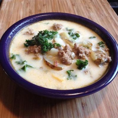 zuppa toscana super-délicieux rapide