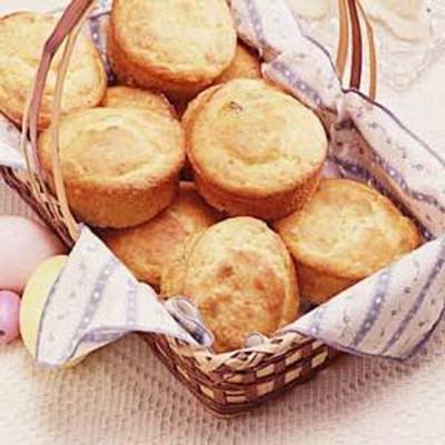 muffins au fromage à la crème à l'orange