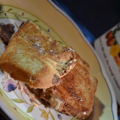 sandwich smores grillé