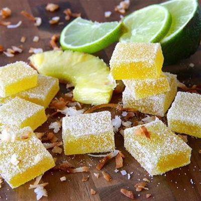 gelées de fruits pina colada