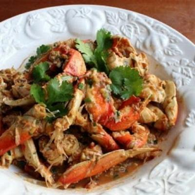 crabes chili singapour