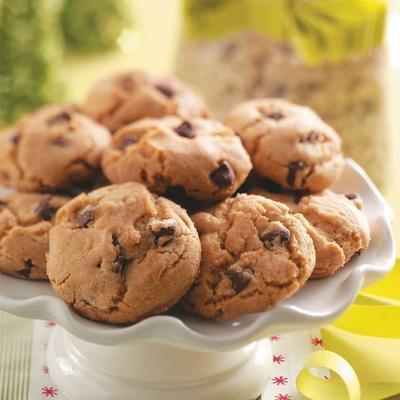 mélange de biscuits aux pépites de chocolat