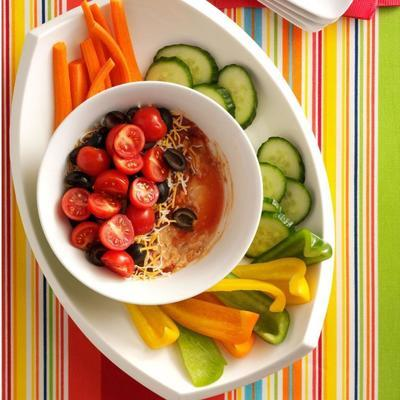 trempette salsa aux haricots