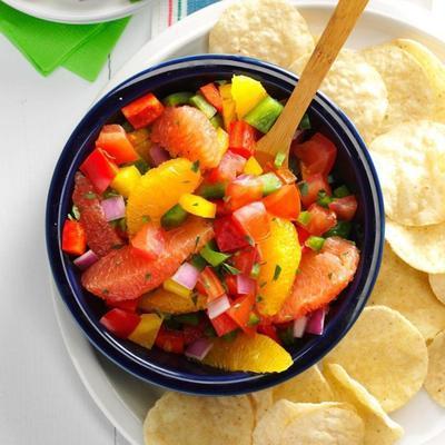 salsa acidulée du texas