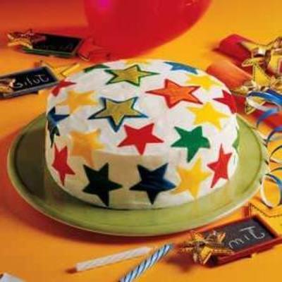 gâteau d'étoiles douces