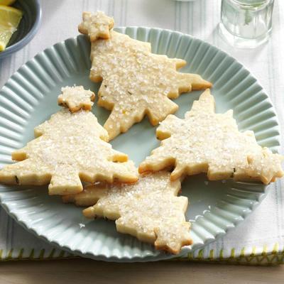 biscuits au romarin et citronnier