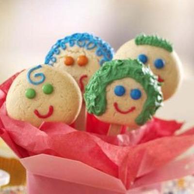 sourire des biscuits au sucre